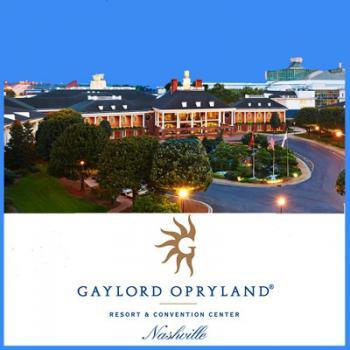 Opryland Hotel in Nashville Tennessee